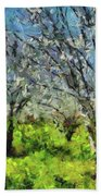 Cherry Orchard Beach Towel