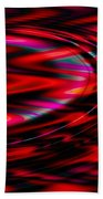 Cherry Red Beach Towel