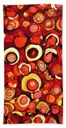 Cherry Tarts Beach Towel