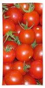 Cherry Tomato Harvest Beach Towel