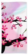 Cherry Tree Beach Towel