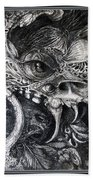 Cherubim Of Beasties Beach Towel