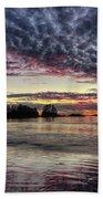 Chesterman Beach Sunset Beach Towel
