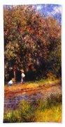 Chestnut Tree Blooming 1881 Beach Towel