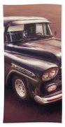 Chevrolet Apache Pickup Beach Towel