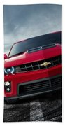 Chevrolet Camaro Zl1 2012 Beach Towel