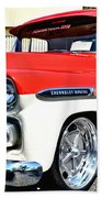 Chevy Apache Custom Hot Rod Truck Beach Towel