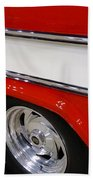 Chevy Cameo 1957 Beach Towel