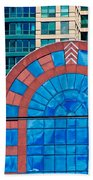 Chicago Place On N. Michigan Ave Beach Towel