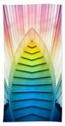 Chicago Art Institute Staircase Pa Prism Mirror Image Vertical 02 Beach Towel
