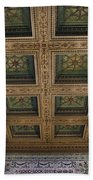 Chicago Cultural Center Staircase Ceiling Beach Towel
