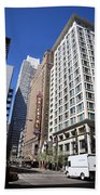 Chicago Downtown Beach Towel