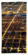Chicago From Above 2 Beach Towel