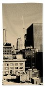 Chicago Loop Skyline Beach Towel