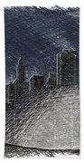 Chicago Millennium Park Bp Bridge Pa 02 Beach Towel