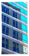 Chicago Structure 8 16 5 Beach Towel