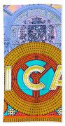 Chicago Theatre Beach Towel