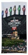 Chicago White Sox Home Coming Weekend Scoreboard Beach Towel