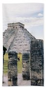 Chichen Itza 3 Beach Towel