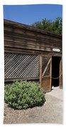 Chicken Coop At Ardenwood Historic Farm Beach Towel