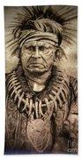 Chief Keokuk  Beach Towel