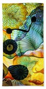 Chihuly's Ceiling Beach Towel