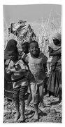 Childern Of The Danakil, Ethiopia Beach Sheet
