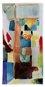 Children At The Greengrocers I Beach Towel