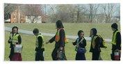 Children Crossing Beach Sheet