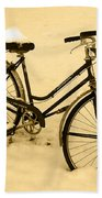 Chilly Ride Beach Towel