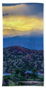 Chimayo Rains Beach Towel