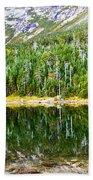 Chimney Pond Reflections 2 Beach Towel