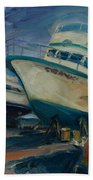 China Basin Beach Towel