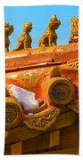 China Forbidden City Roof Decoration Beach Sheet