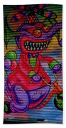 Chinatown Art Beach Towel