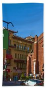 Chinatown View From St. Mary's Square Beach Towel
