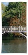 Chinese Bridge Over The River Beach Towel
