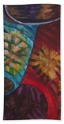 Chinese Lanterns Beach Towel
