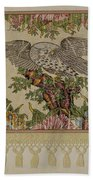 Chintz Valance For Poster Bed Beach Towel