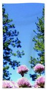 Chives Alive Beach Towel