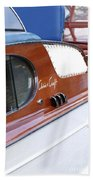 Chris Craft Enclosed Cruiser Beach Towel