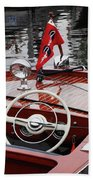 Chris Craft Sportsman Beach Towel