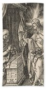 Christ Appearing To His Mother, From The Small Passion Beach Towel