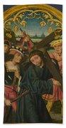 Christ Carrying The Cross Beach Towel