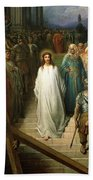 Christ Leaves His Trial Beach Towel by Gustave Dore