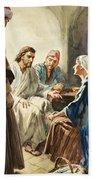 Christ Talking Beach Towel