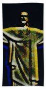 Christ The Redeemer - Rio Beach Towel