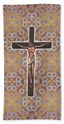 Christ Variations #1 Beach Towel