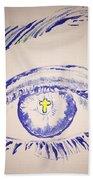 Christian Eye Beach Towel