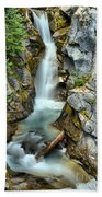 Christine Falls In The Canyon Beach Towel